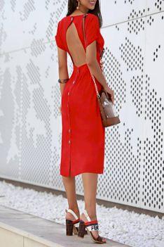 Sukienka DEZARA RED