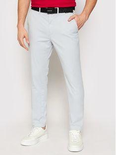 Calvin Klein Chinosy K10K106894 Niebieski Slim Fit
