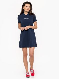 """Tommy Jeans """"Essential Polo Dress"""" Blue"""