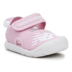 Sandały New Balance Jr Iocrsrpp granatowe różowe