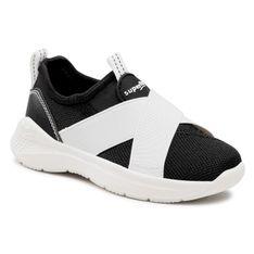 Sneakersy SUPERFIT - 1-000310-0000 M Schwarz/Weiss