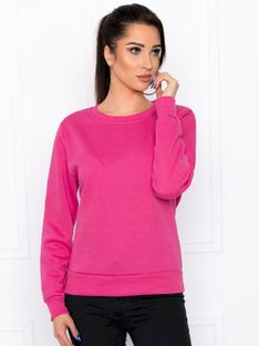 Bluza damska bez kaptura 001TLR - różowa