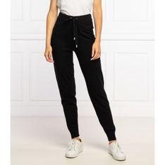 Michael Kors Spodnie dresowe | Regular Fit | z dodatkiem wełny i kaszmiru