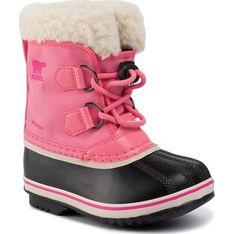 Buty zimowe dziecięce Sorel nylonowe śniegowce