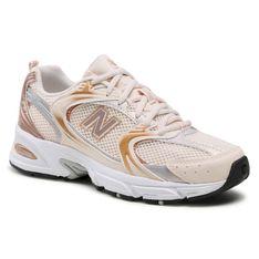 Sneakersy NEW BALANCE - MR530EMC Beżowy