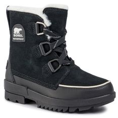 Śniegowce SOREL - Torino II NL3488 Black 010