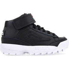 Sneakersy damskie Fila młodzieżowe gładkie wiązane