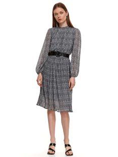 Elegancka plisowana sukienka