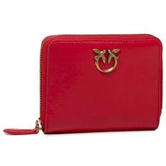 Mały Portfel Damski PINKO - Taylor Wallet Zip Around M 2 Simf PE 21 PLTT 1P2289 Y6XT Red R43
