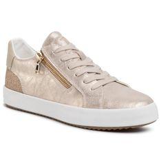Sneakersy GEOX - D Blomiee A D026HA 0PVEW C2012 Lt Gold