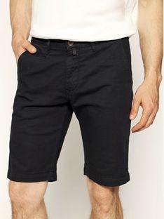 Pierre Cardin Szorty materiałowe 3465/2040 Czarny Tailored Fit