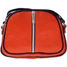 Listonoszka Genuine Leather pomaranczowy