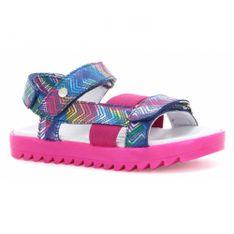 Sandały Bartek T-16181/1Pj, Dla Dziewcząt, Wielokolorowy