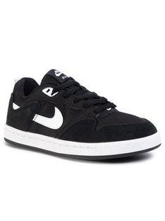 Nike Buty Sb Alleyoop (Gs) CJ0883 001 Czarny