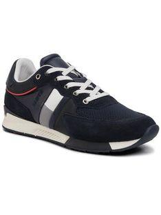 Lloyd Sneakersy Egan 10-402-18 Granatowy
