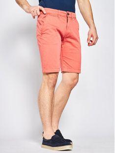 Pepe Jeans Szorty materiałowe Queen PM800227 Czerwony Regular Fit