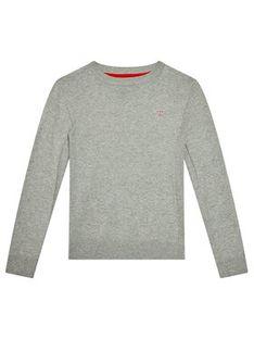 Guess Sweter L0YR03 Z2VV0 Szary Regular Fit