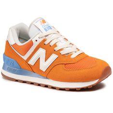 Sneakersy NEW BALANCE - WL574VI2 Pomarańczowy