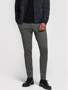 Jack&Jones Spodnie materiałowe Marco Phil 12173628 Szary Slim Fit