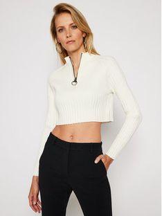 Pepe Jeans Sweter DUA LIPA Juliette PL701653 Beżowy Regular Fit