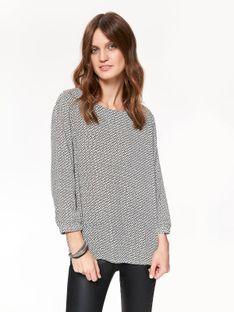 Elegancka bluzka z połyskiem