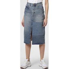 Spódnica Essentiel Antwerp z jeansu midi