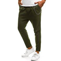 Spodnie męskie Ozonee zielony