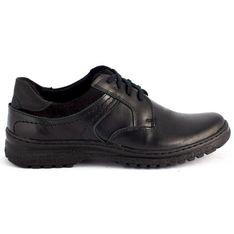 KOMODO Zimowe buty męskie 835F czarne