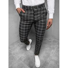 Spodnie męskie bawełniane