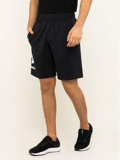Under Armour Szorty sportowe UA Sportstyle Cotton Graphic 1329300 Czarny Regular Fit