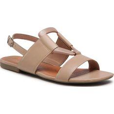 Sandały damskie Lasocki casual z tworzywa sztucznego z klamrą