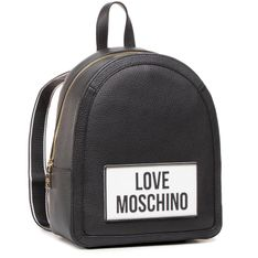 Plecak LOVE MOSCHINO - JC4302PP0BKQ0000 Nero