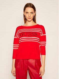 Guess Sweter Alessia W0YR87 Z2BB0 Czerwony Regular Fit