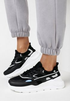 Czarne Sneakersy Adriehaneh