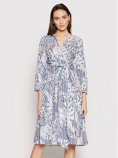 MAX&Co. Sukienka codzienna Bandolo 62211021 Biały Regular Fit