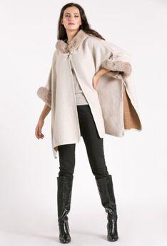 Sweter typu poncho