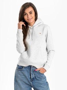 "Tommy Jeans ""Regular Fleece Hoodie"" Grey"