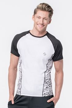 T-shirt Motto Biały