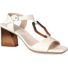 Sandały damskie Hispanitas z klamrą skórzane