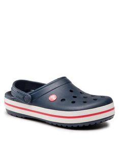Crocs Klapki Crocband 11016 Granatowy