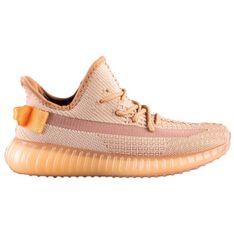 SHELOVET Tekstylne Sneakersy Na Platformie pomarańczowe