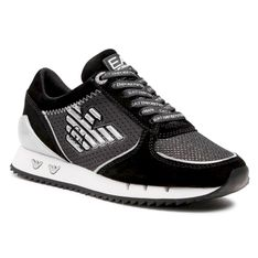 Sneakersy EA7 EMPORIO ARMANI - X7X005 XK210 N629 Black/Silver