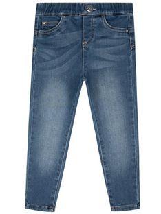 Liu Jo Kids Jeansy KA0023 F0800 Granatowy Slim Fit