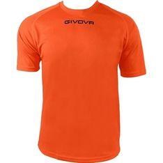 T-shirt męski Givova w wojskowym stylu z krótkimi rękawami