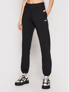MSGM Spodnie dresowe 3041MDP64 217299 Czarny Regular Fit