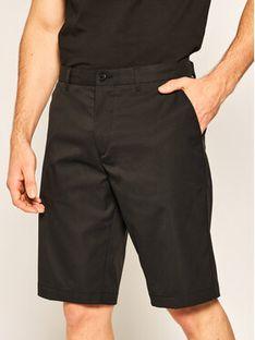 Boss Szorty materiałowe Hayler 50422937 Czarny Regular Fit