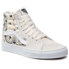 Sneakersy VANS - Sk8-Hi VN0A32QG42S1M (Bandana) Classic Wht/Blk
