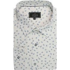 Koszula męska biała Victorio bawełniana