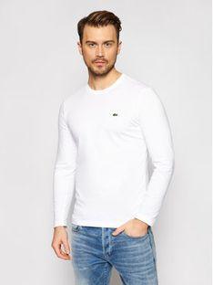 Lacoste Longsleeve TH2040 Biały Regular Fit