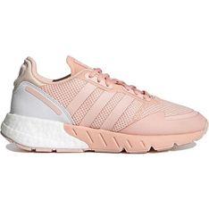 Buty sportowe damskie Adidas zx płaskie skórzane sznurowane